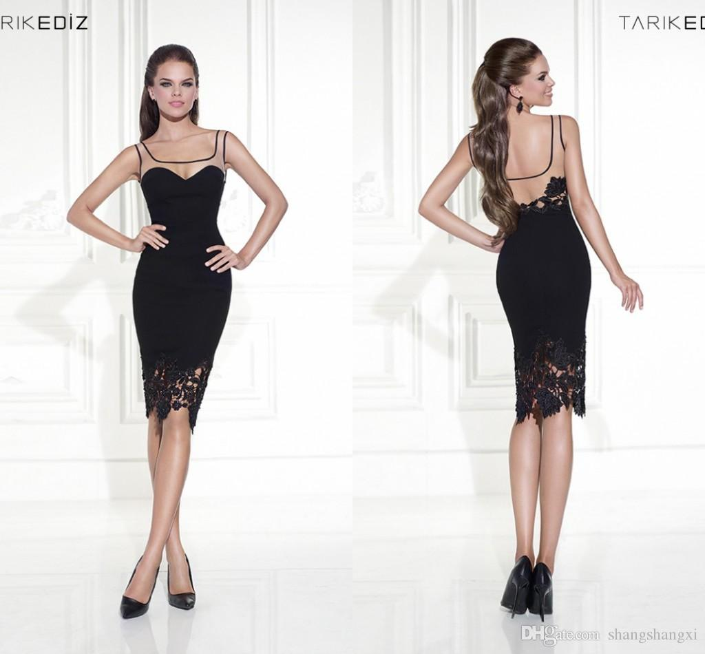 Sleeveless Black Cocktail Dresses