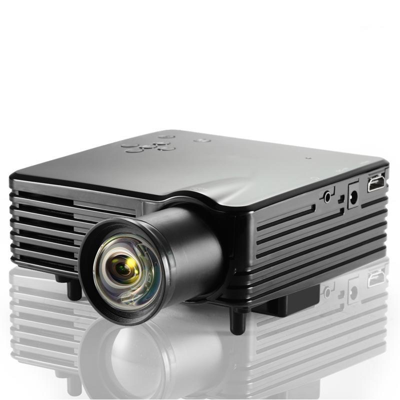 Cheap mini led projector barcomax vivibright gp7s 1080p for Cheap mini portable projector