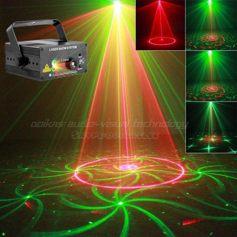 Corbett Lighting Party All Night: Night Club Lighting 24 Patterns Rgb Laser Projector Luzes