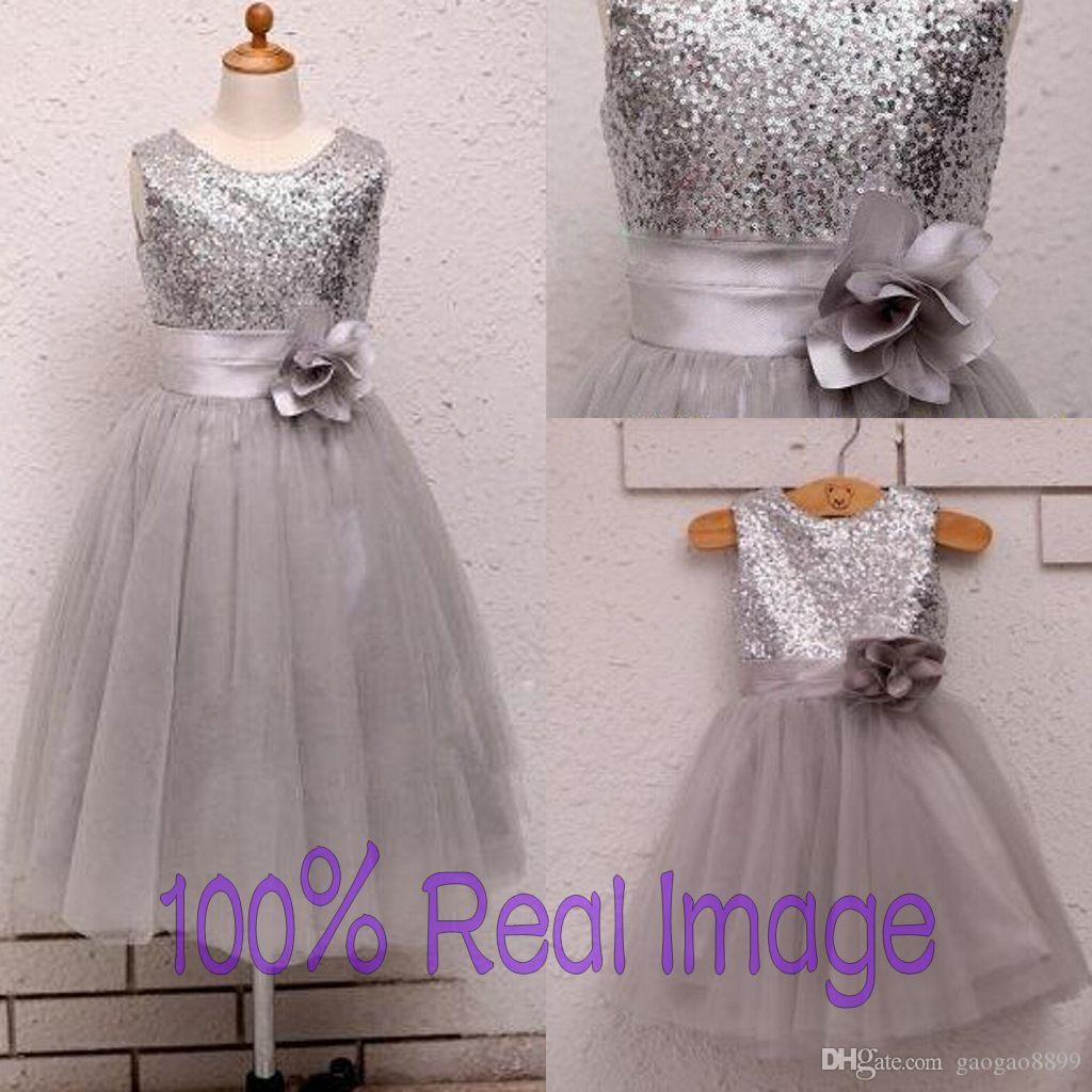 Cheap Silver Flower Girl Dresses Uk Discount Wedding Dresses