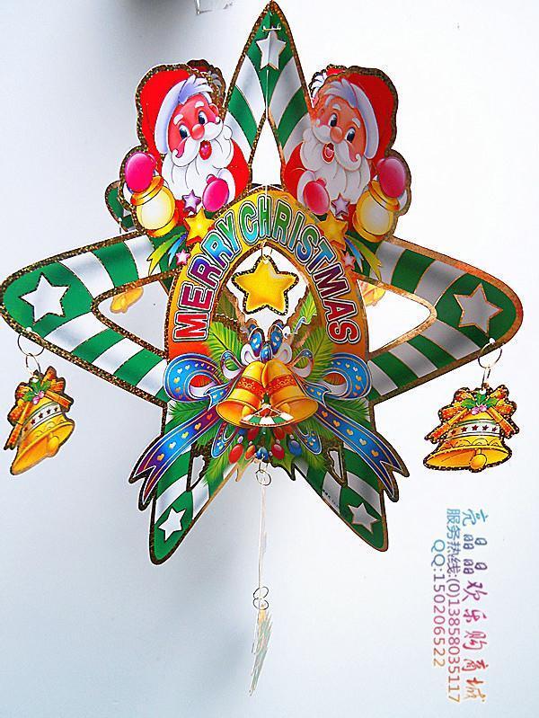 Christmas bells corners supplies three dimensional