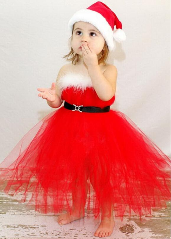 Little Girl Christmas Dresses And Costumes For Young Girls And ...