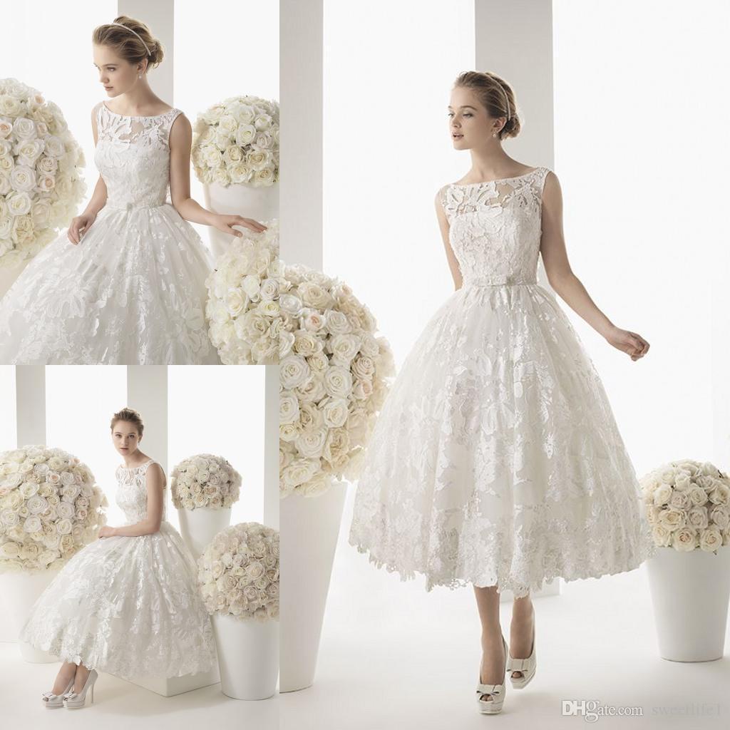 Discount boho 2015 plus size beach short wedding dresses for Used short wedding dresses