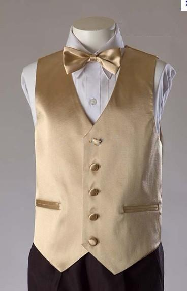 Formal Gold Men S Waistcoat 2015 New Arrival Fashion Groom