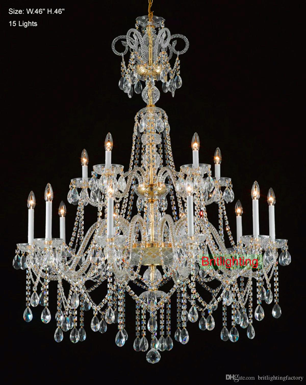 Wholesale Crystal Chandelier From China Flush Fitting Chandeliers – French Style Chandelier