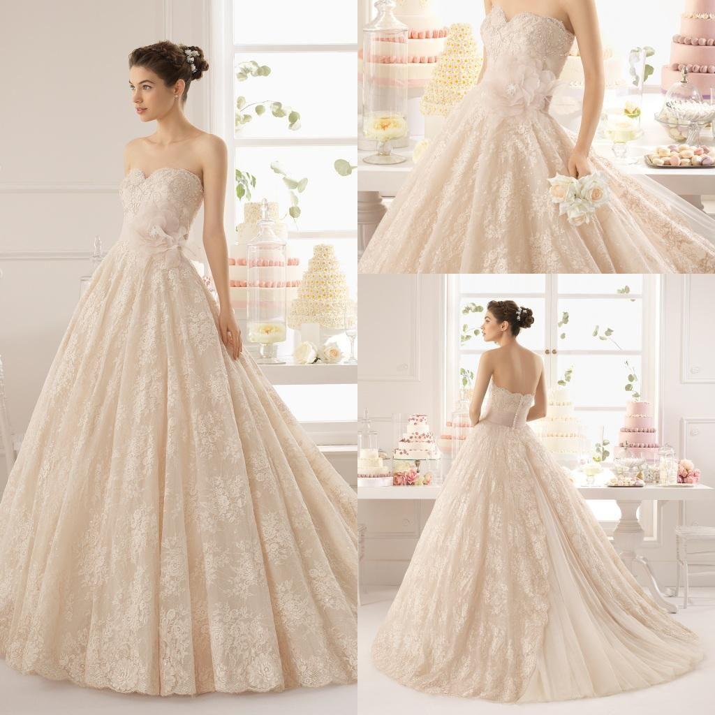 Blush strapless a line wedding dresses 2016 boho for Dhgate wedding dresses 2016