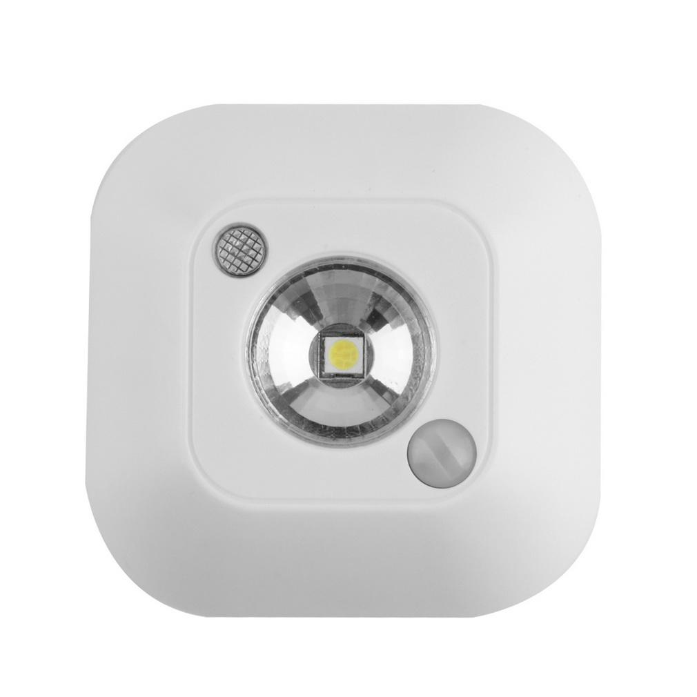 indoor lighting night lights new arrival mini wireless infrared motion sensor ceiling night light battery powered battery powered indoor lighting