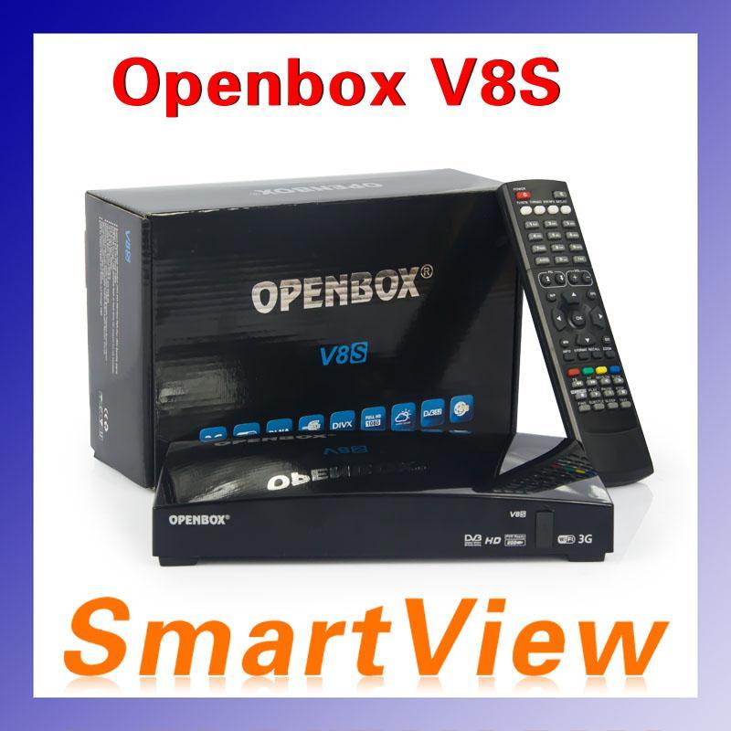 Original openbox v8s digital satellite receiver support for Web tv camera