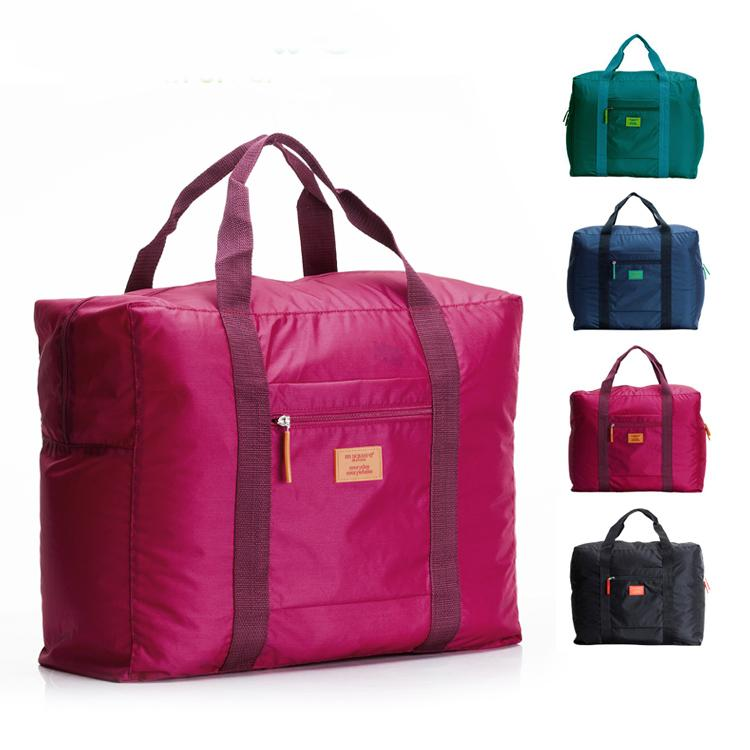 Travel Luggage Handbags Waterproof Hand Bags Nylon Foldable ...