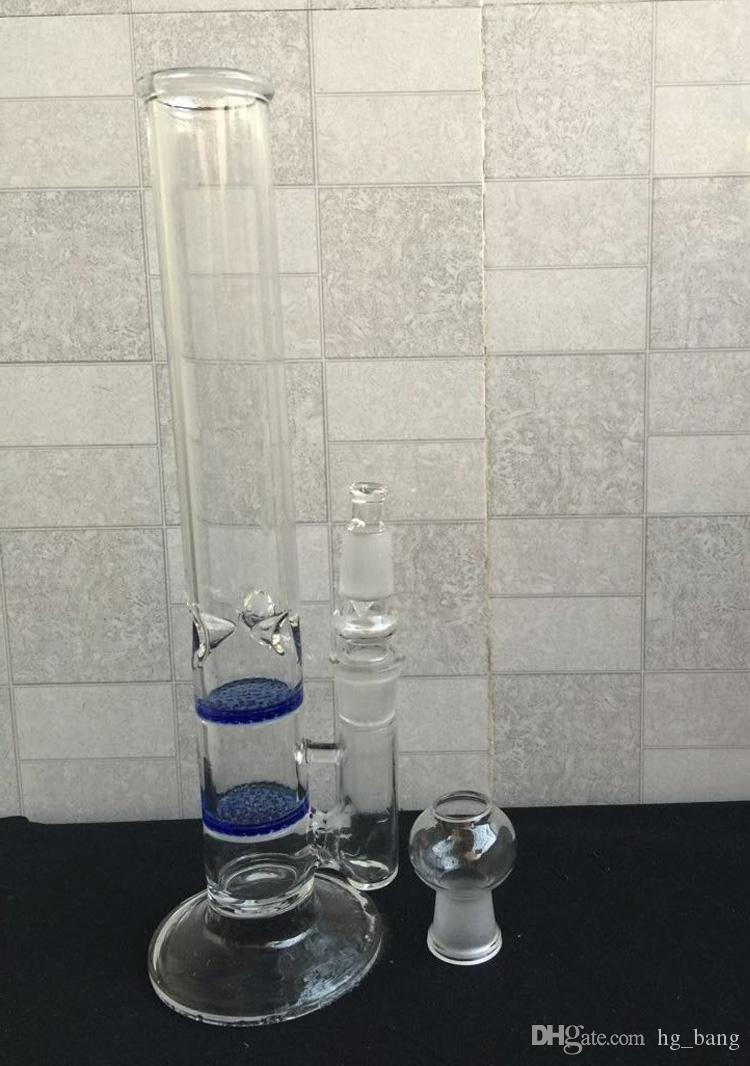 2015 New Water Pipes Glass Bongs With One Filter Bubbler