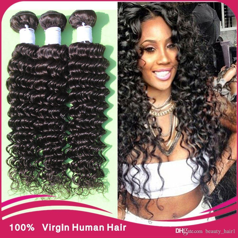 Magic Hair Company Virgin Brazilian Curly Closure Tight Curly