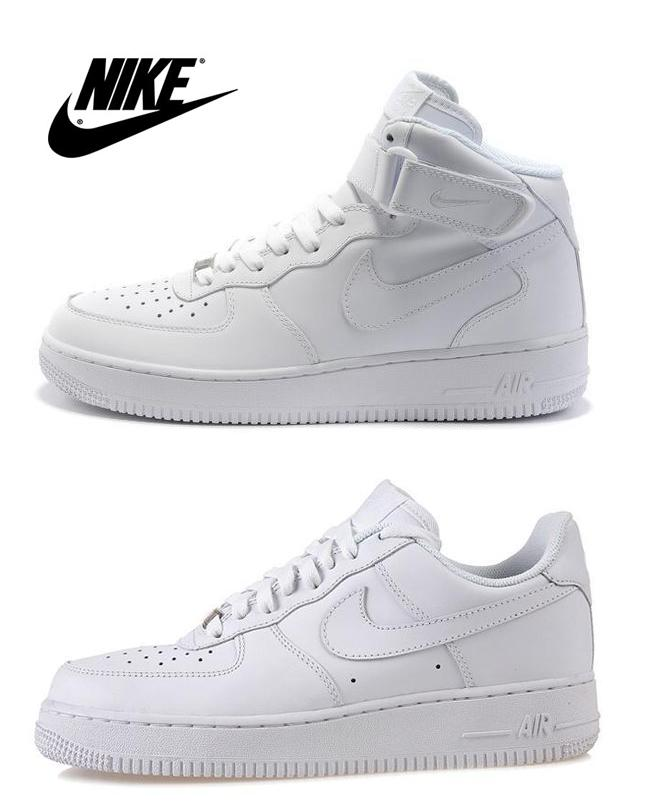 Nike Air Force 1 High Top White Womens