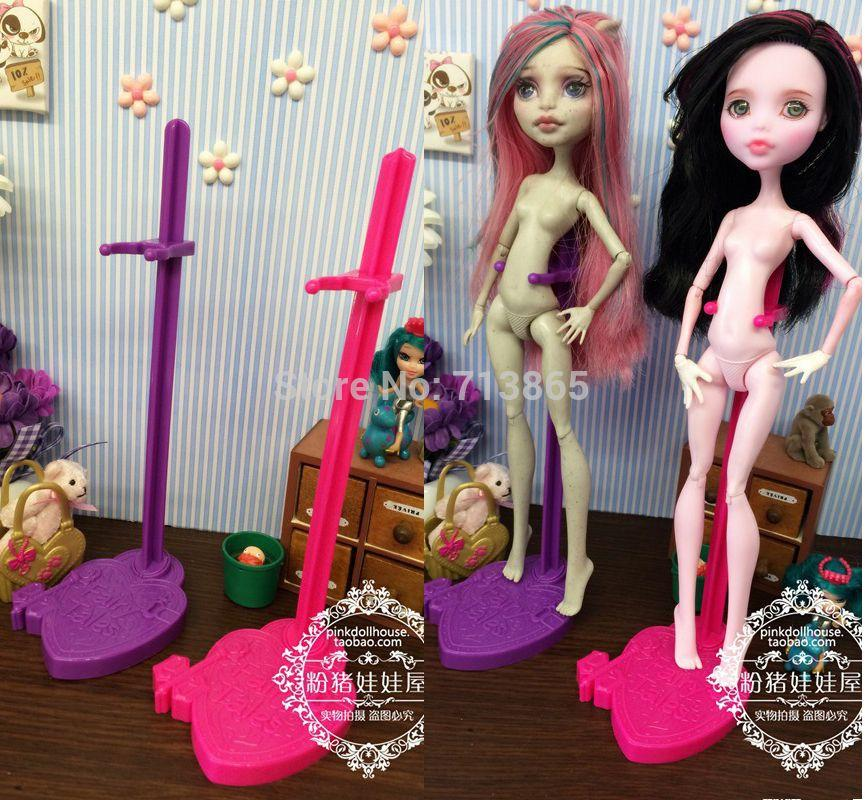 2015 New Doll Stand Display Holder For Monster High Dolls