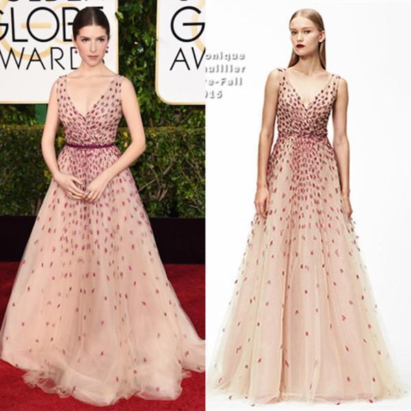 2015 72nd Golden Globe Red Carpet Celebrity Dresses Of ...