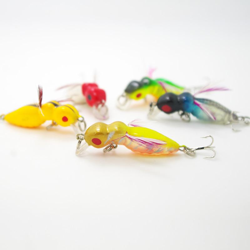 carp fishing lure cricket insects mini minnow artificial bait bass, Soft Baits