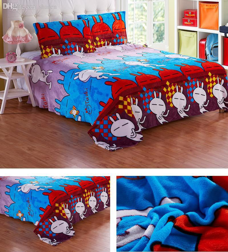 Wonderful Wholesale Coral Fleece Blanket 180 * 200cm Cartoon Tthick Baby Blanket  France Levin Velvet Linen Quilt Bedding Blanket Teak Patio Furniture Outdoor  ...