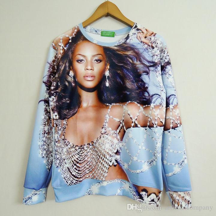 2015 New Fashion Beyonce Pearl Clothes Men Women ...