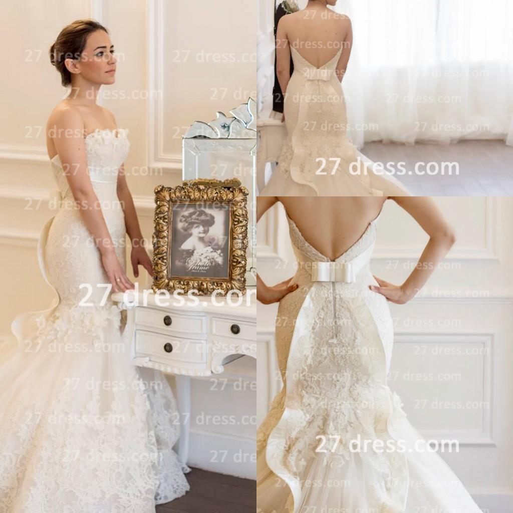 unique mermaid wedding dresses