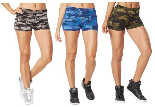 Woman Dance Pants Camo Perfect Shorts Yoga Pants Blue/army Green ...