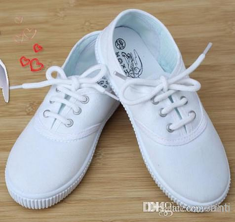 canvas shoes white students shoes 1 4 years children