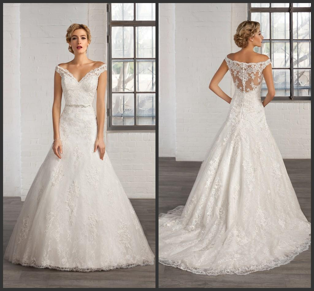 Cosmobella ball gown wedding dresses off the shoulder for Silver beaded wedding dress