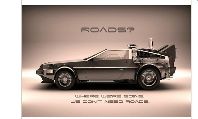 Super Cars Back To The Future Custom Classical Stylish Nice Home Decor Retro Poster 50x76cm
