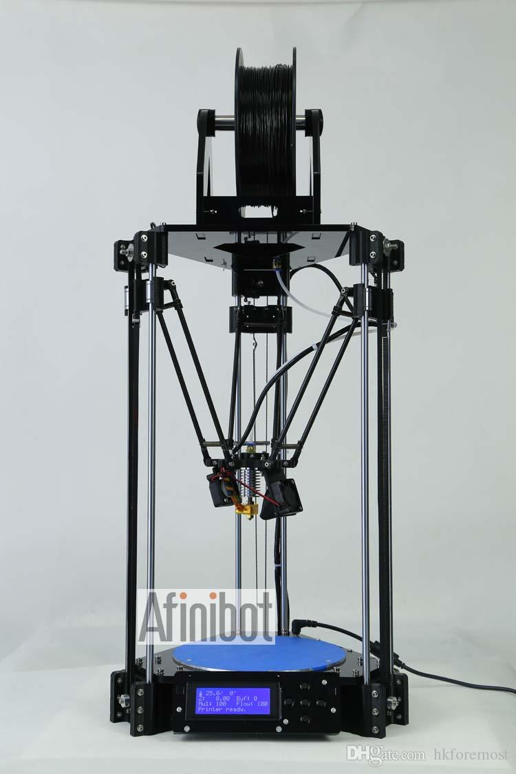 2016 Newest Auto Leveling Delta 3d Printer Rostock Mini