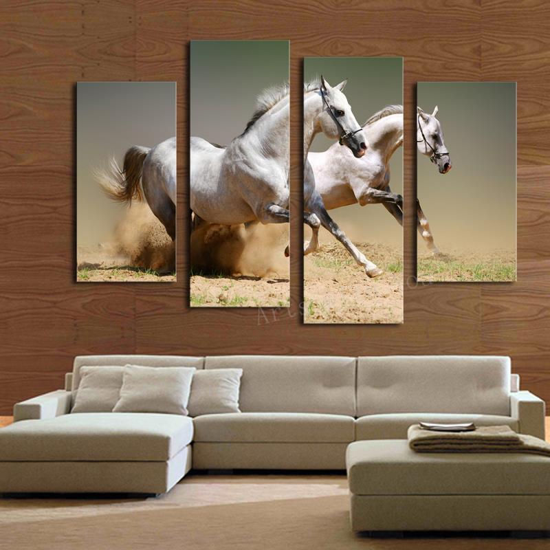 Black and <b>White Horse</b> Wallpaper - WallpaperSafari