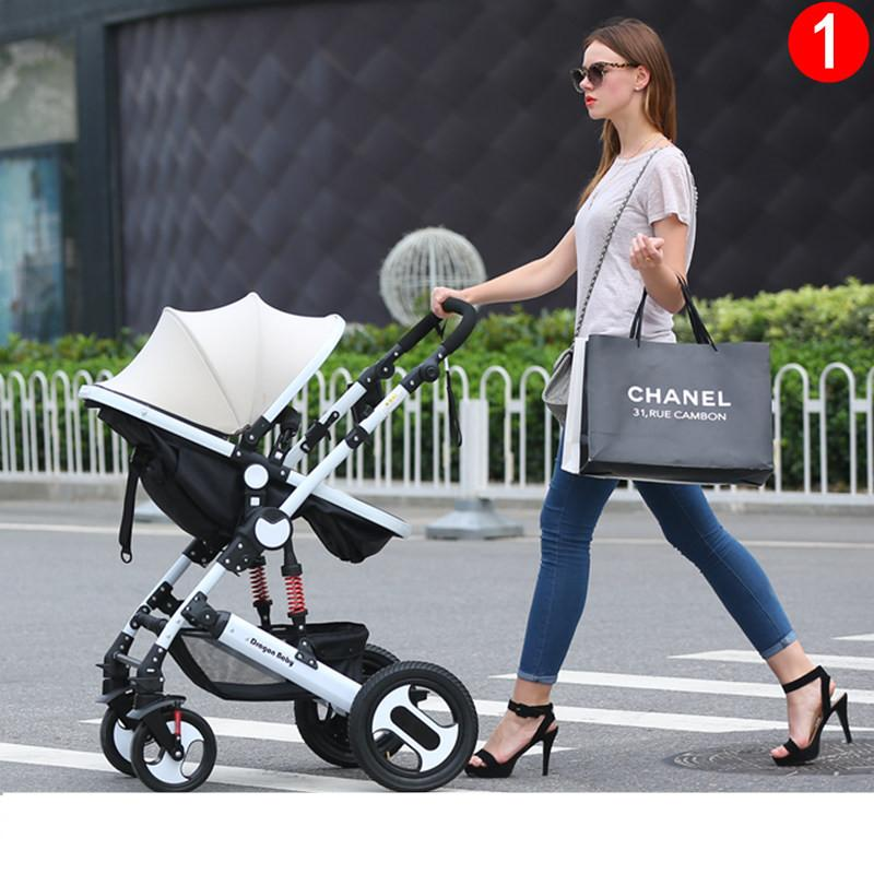 Hot Mom  In  Stroller With Car Seat