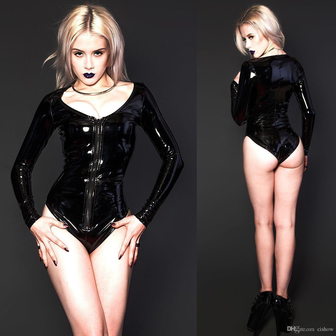 Сексуальная кожаная одежда для женщин 7 фотография