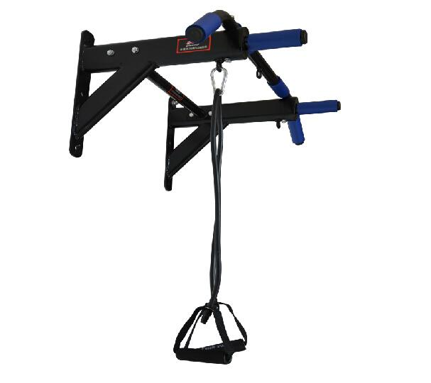 Home gym and exercise equipment pull up bar wall