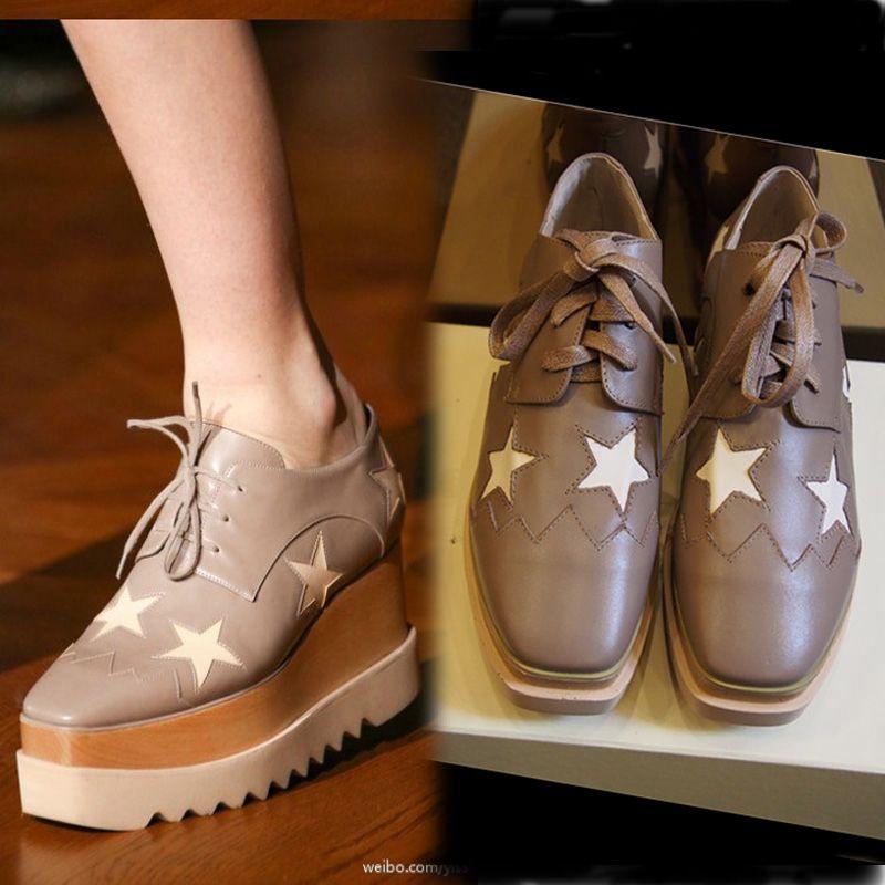 2015 Spring Fashion Women Platform Shoes Brand Designer Casual ...