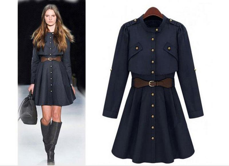 Images of Long Trench Coats - Reikian