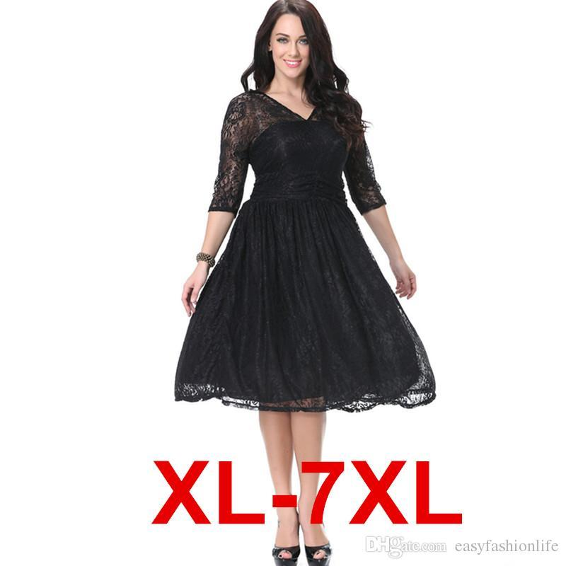 Innovative Large Big Size Women Dress 6XL Plus Size Female Vestidos Dresses 5XL