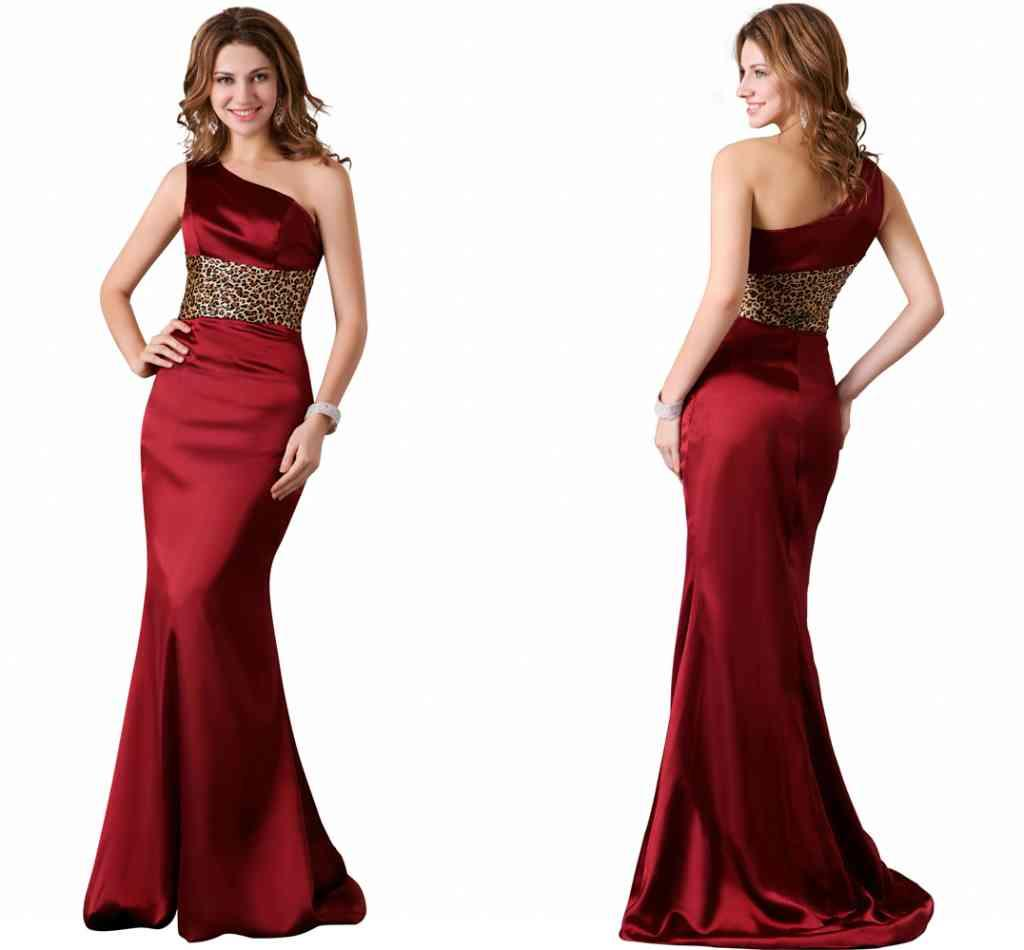 Elegant burgundy mermaid prom dresses one shoulder sleeveless elegant burgundy mermaid prom dresses one shoulder sleeveless peplum sexy leopard print floor length bridesmaid wedding guest dresses custom prom dresses ombrellifo Image collections