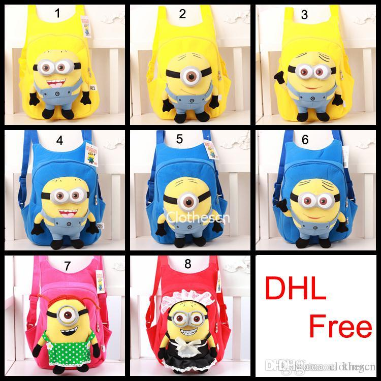 Baby Backpscks Minion Bags Despicable Me School Shoulder Bags ...