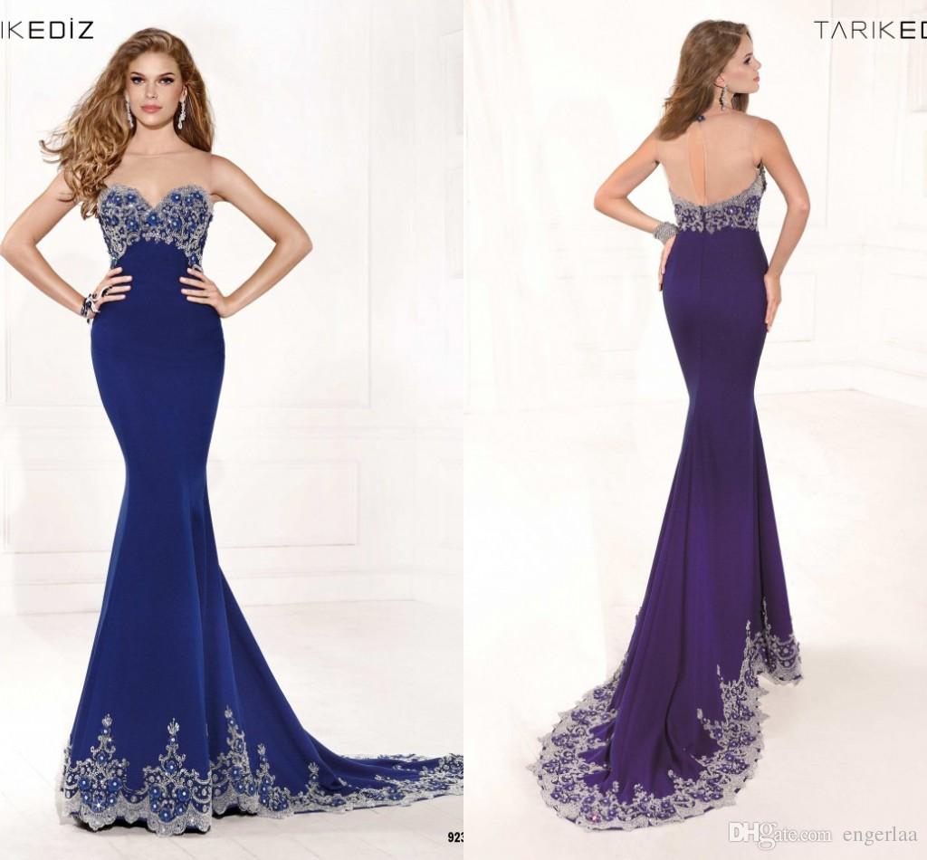 Mermaid Style Evening Dresses By Js Collection 4