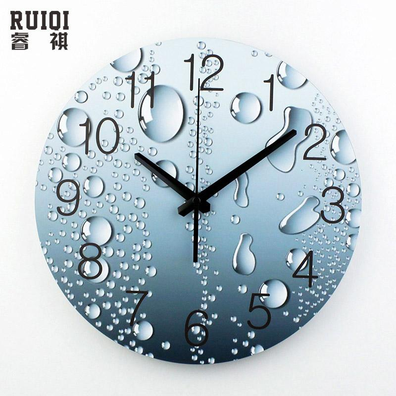 wholesale designer wall clock modern home decoration 3d wall decor clcoks living room decor silent wall