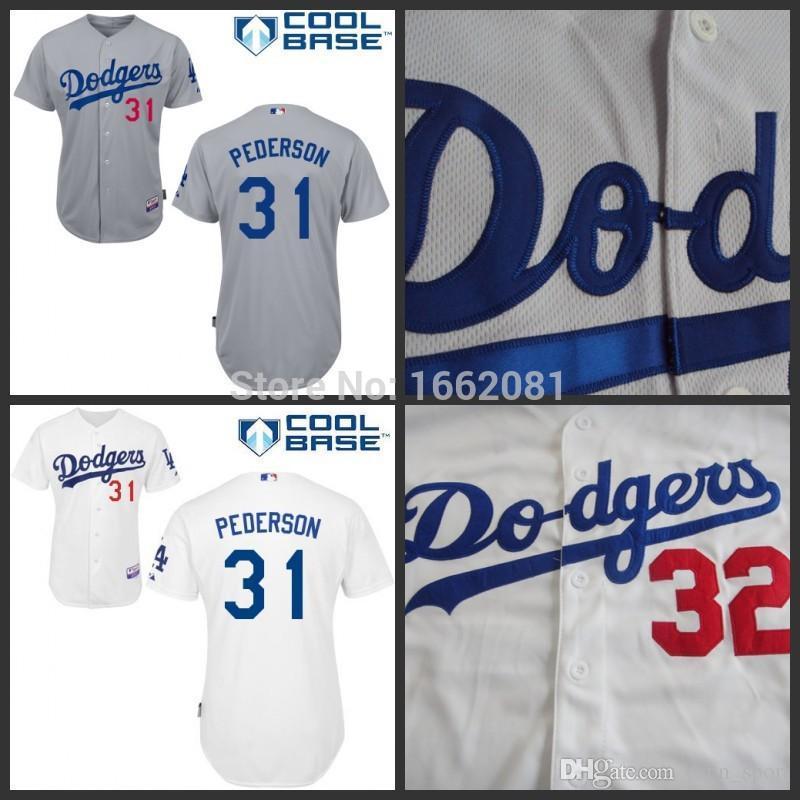 pederson joc 31 jersey toddler dodgers 31 joc pederson white cool base youth mlb