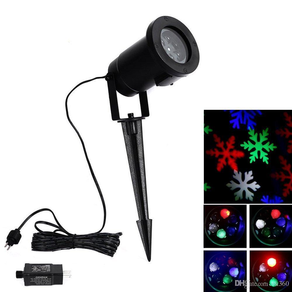 Outdoor Christmas Laser Lights Snowflake
