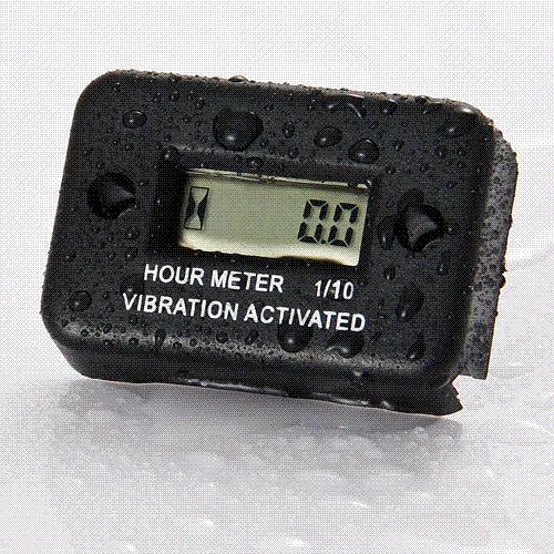 Electric Motor Hour Meters : Best quality waterproof vibration wireless hour meter for