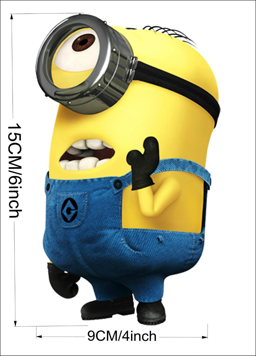 Minions Bedroom Wallpaper Despicable Me 2 Cute Minions Wall Stickers For Switch Notebook