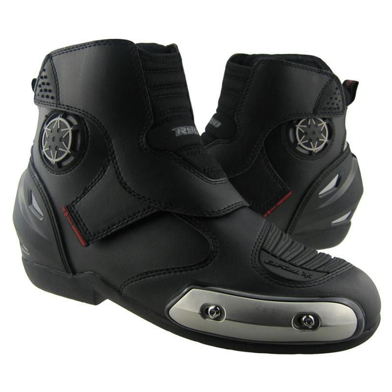 2015 RYO Motocross Boots Leather Botte Moto Off-road Shoes ...