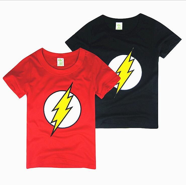 2017 Baby Boys Clothes The Flash Superhero Baby Girl Short ...