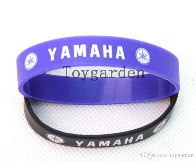 NEW Yamaha Silicone Wristband Bracelet , Armband Rossi Lorenzo MX SBK R1  R1M YZF Silicone Bracele Online with $48.0/Piece on Toygarden\u0027s Store