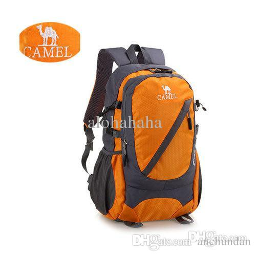 New Camel Men And Women Hike Backpack Waterproof 420d Fabric ...
