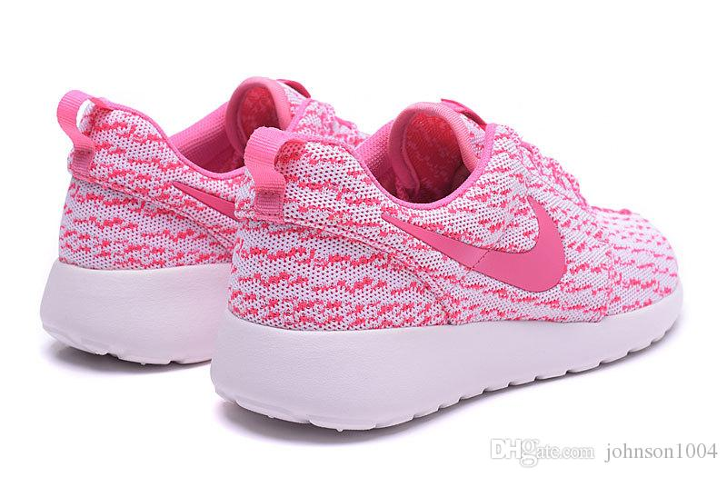 nike roshe run womens shoes breathable for summer pink nz