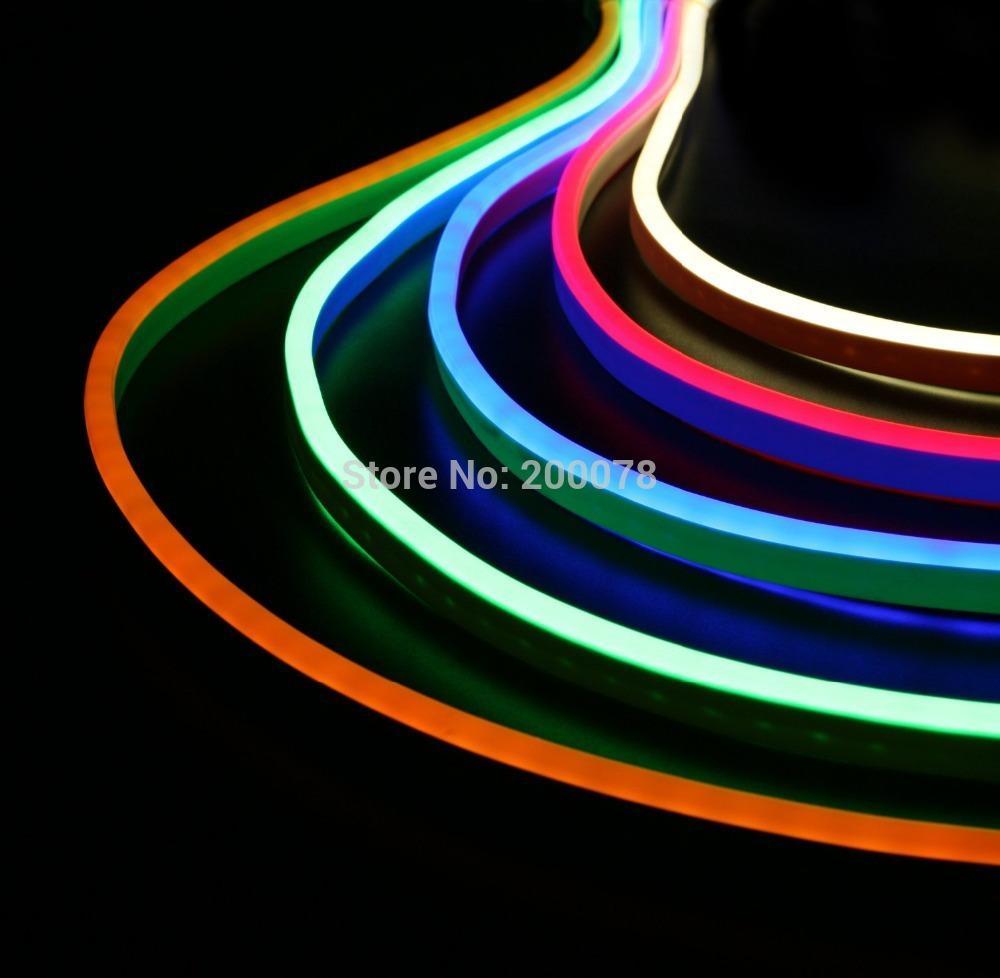 50m Spool 110v 120v Super Bright Mini LED Neon Flex 816mm