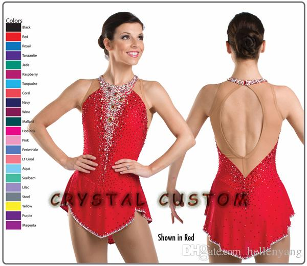Professional Custom Figure Skating Dress Figure Skating Costumes ...