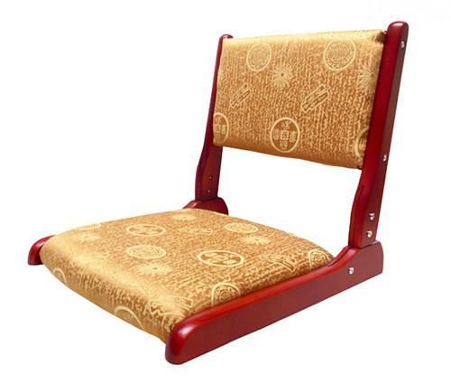 2017 japanese tatami floor chair folding legs walnut black for Asian floor chair